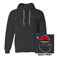Pre-Order OneRepublic Unisex Full Zip Hooded Sweatshirt*