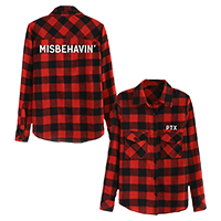 Misbehavin' Plaid Flannel