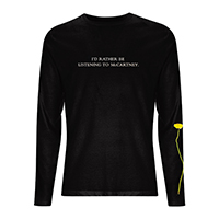 Flowers In The Dirt Logo Black Longsleeve