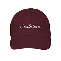 Burgundy Evolution Hat