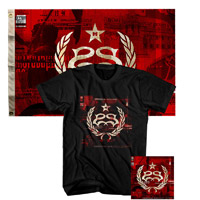 StoneSour  Hydrograd Tee Flag and CD Bundle