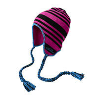 Sublime ear flap striped beanie