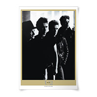 'War' Album Lithograph