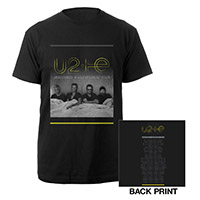 U2ie Tour Official Men's T-shirt