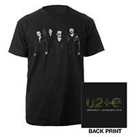 U2ie Tour Photo Logo T-shirt