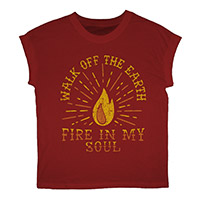Fire In My Soul Red Tee