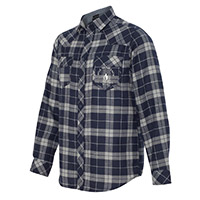 Walk Off The Earth Navy Plaid Flannel