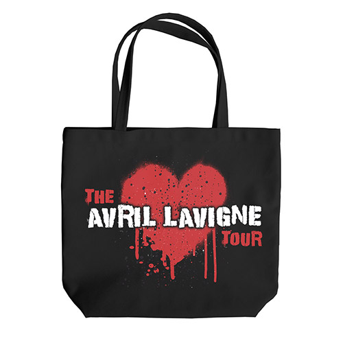 Avril Lavigne Tour Tote Bag
