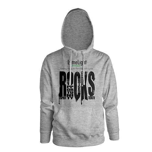 R.O.C.K.S/LymeLight Foundation Pull-over Hooded Sweatshirt