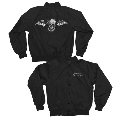 Deathbat satin jacket