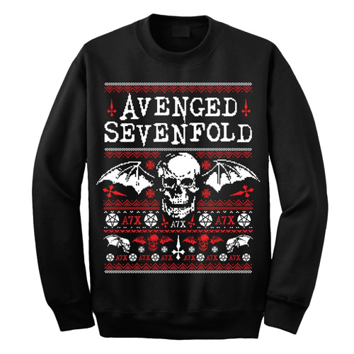 Avenged Sevenfold Holiday Sweatshirt