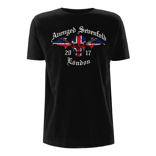Union Jack Black T-shirt