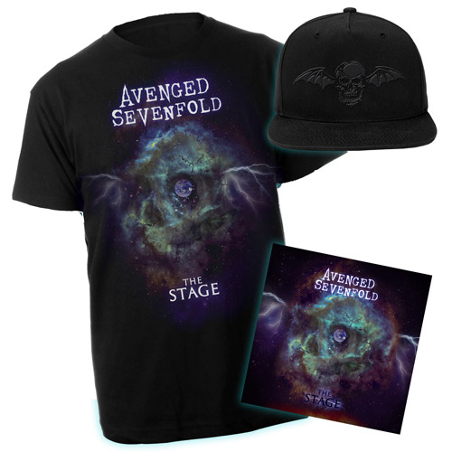 The Stage Tee & MP3 & Hat