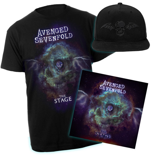 The Stage Tee & Double LP Vinyl & Hat