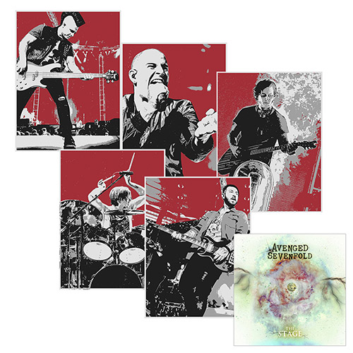The Stage Deluxe Double CD & Live photo Serigraph Set