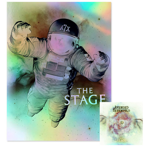 The Stage Deluxe Double CD & Spaceman Lithograph