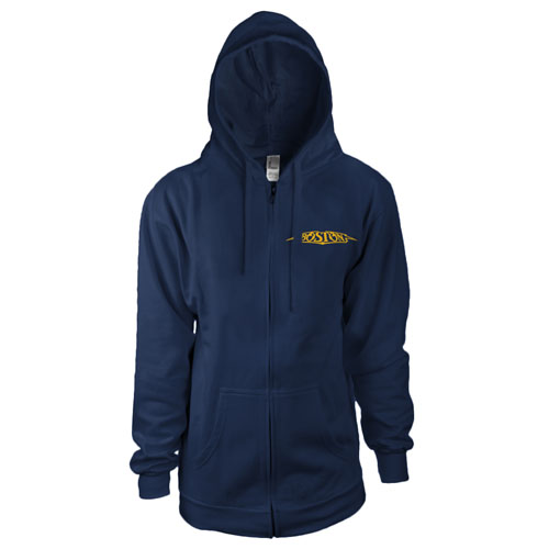 Boston Logo Women's Zip-Up Hoodie