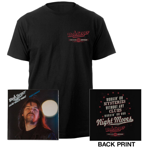 Night Moves 40th Anniversary Tee & CD
