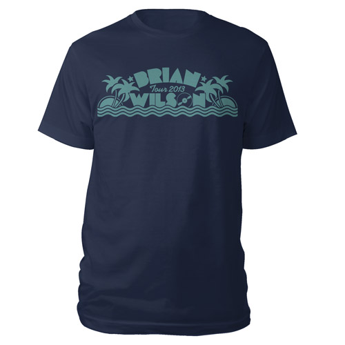 Brian Wilson Palm Tree Shirt