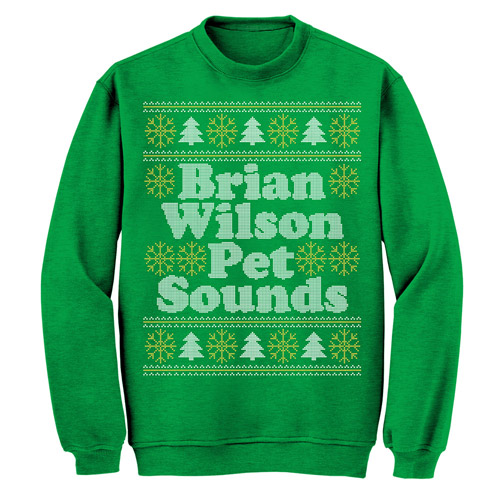 "Brian Wilson Pet Sounds ""Ugly"" Christmas Sweater"