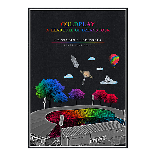 European #AHFODTOUR Poster Brussels 2017