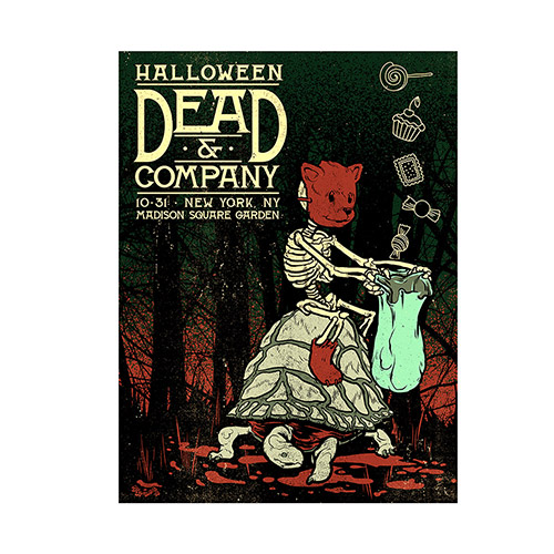 Madison Square Garden, New York Exclusive Halloween Event Poster