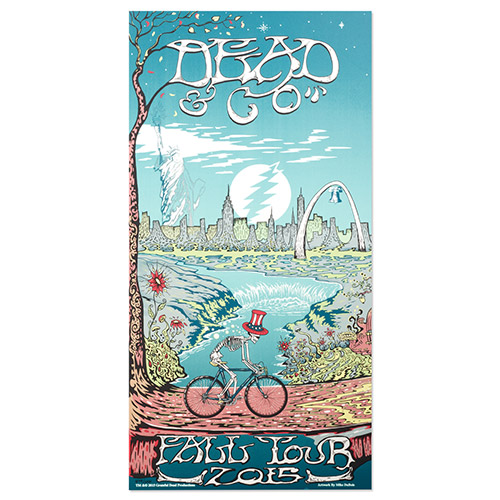 Dead & Company Official Store   Dead & Co Poster - Leg 1