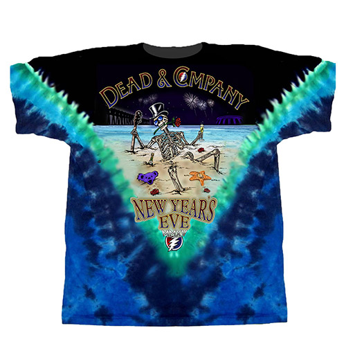 New Year's Eve Tie Dye Event Tee