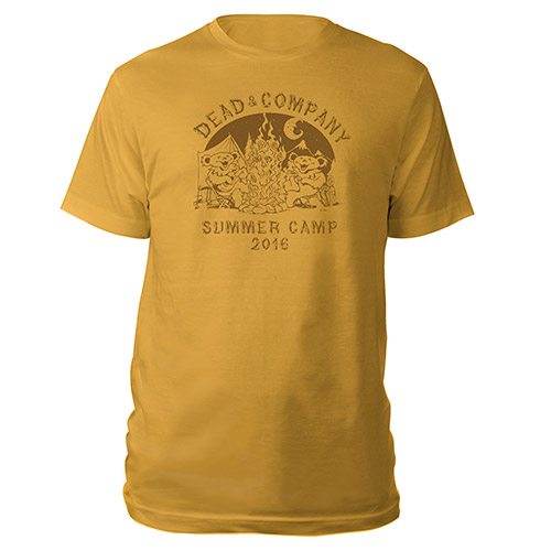 Summer Camp Gold Tee