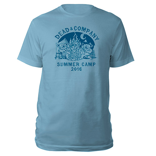 Youth Summer Camp Light Blue Tee