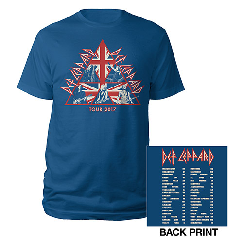 Union Jack Live Shots Tour 2017 Tee