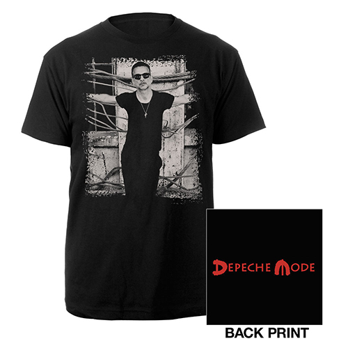 Dave Photo Black T-shirt