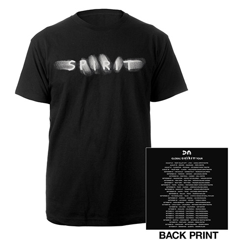 Spirit/US Dates Black T-shirt