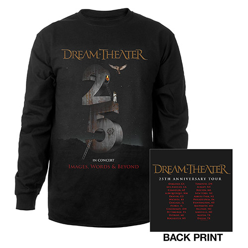 Images and Words 25th Anniversary 2017 US Tour Longsleeve Tee