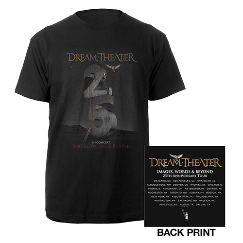 Images and Words 25th Anniversary 2017 US Tour Tee