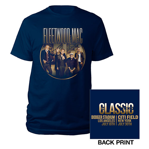 Fleetwood Mac 2017 The Classic Photo Tee