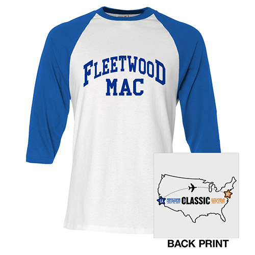 Fleetwood Mac 2017 The Classic Raglan Tee