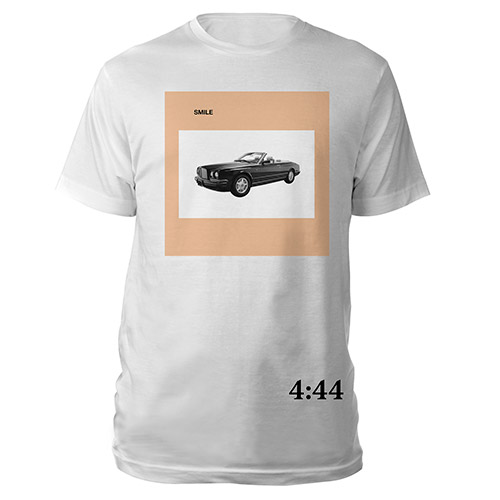Jay-Z 4:44 Smile Tee*