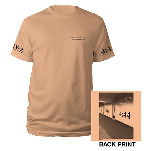Jay-Z 4:44 Brooklyn Tee*