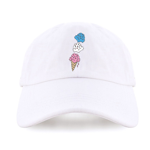 Ice Cream Dad Hat