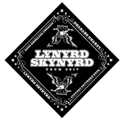 2017 Support Southern Rock Bandana