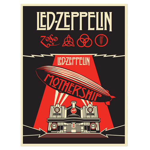 Mothership Numbered 24x36 Lithograph