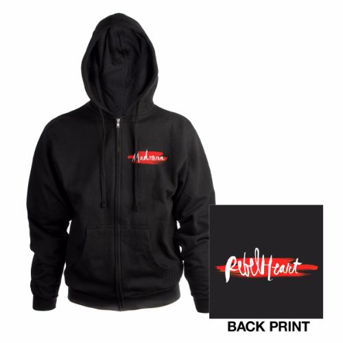 Rebel Heart Zip Hoody