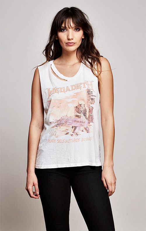 Megadeth Thrashed Muscle Tank