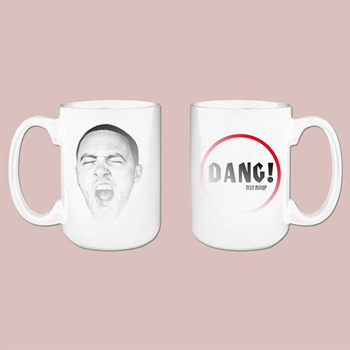 MAC MILLER DANG! HEAT REVEALED MUG