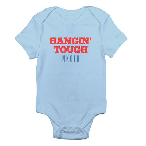 Hangin Tough Baby onesie