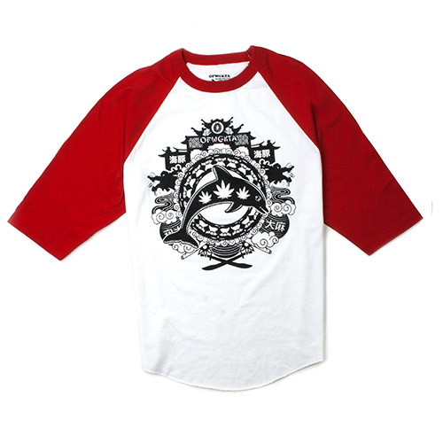 YEAR OF THE DOLPHIN RAGLAN