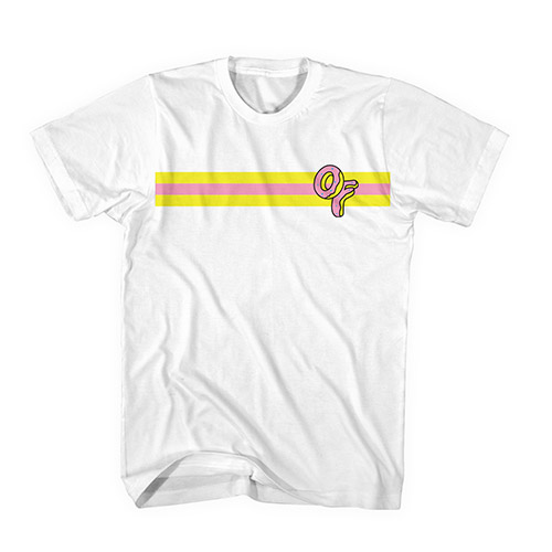 OF DONUT STRIPE TEE