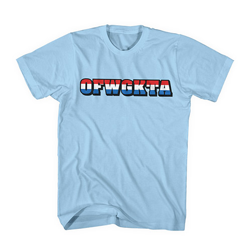 RED, WHITE & BLUE OFWGKTA TEE