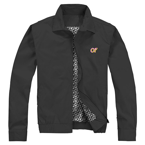 EMBROIDERED OF LOGO CLASSIC JACKET